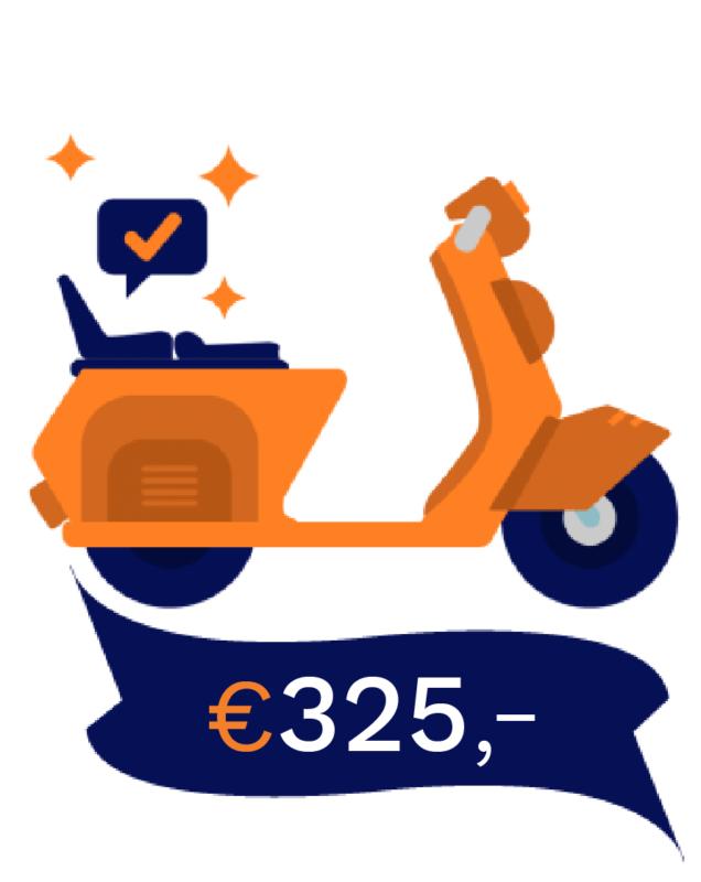 Bromo scooter praktijk